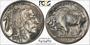 1937 Buffalo Nickel