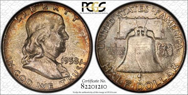 1958 Franklin Half