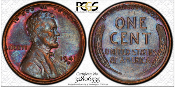 1941-S Lincoln Cent